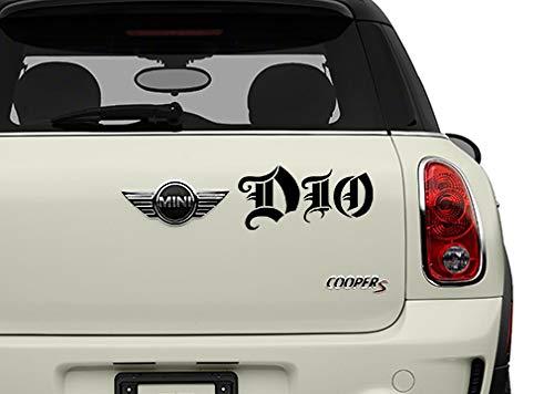 Dio Black Bands Automotive Decal//Bumper Sticker