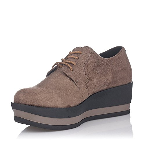 MTNG Zapato Mujer con Cordones, PLATAFORMA-51728 (C2452) (40)