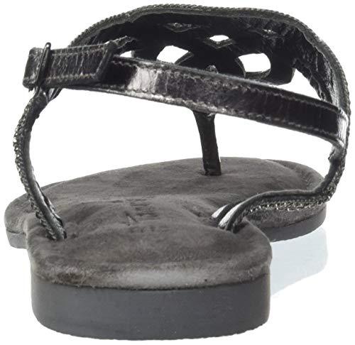 Negro Metallic Mujer 1 Con 22 Pulsera Sandalia 12 28115 1 Para Tamaris black zwgPq