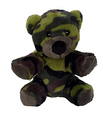 "8"" Recordable Camoflauge Military Bear w/ 10 Second Recorder from Bear Factory"
