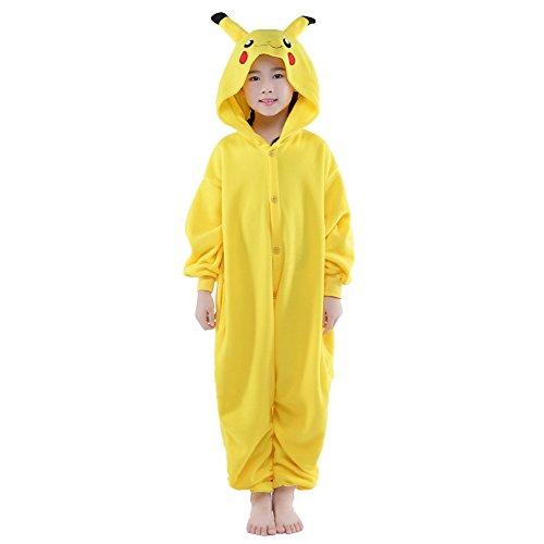 Edward 40 Hands Costumes - NEWCOSPLAY Children's Pikachu Halloween Plush Cosplay