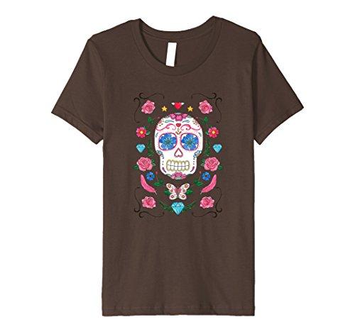 Kids Day Of The Dead   Halloween   Dia De Los Muertos T-Shirt 6 (Dead School Boy Halloween Costume Ideas)