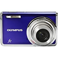 Olympus FE-5020 12MP Digital Camera with 5x Wide Angle Optical Zoom and 2.7 inch LCD (Royal Blue) At A Glance Review Image