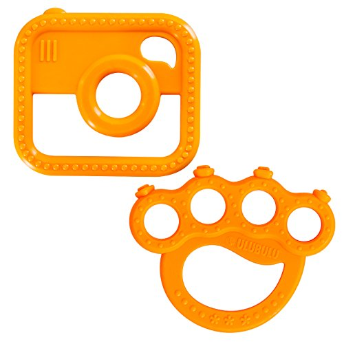 Ulubulu Brass Knuckles Teether Camera