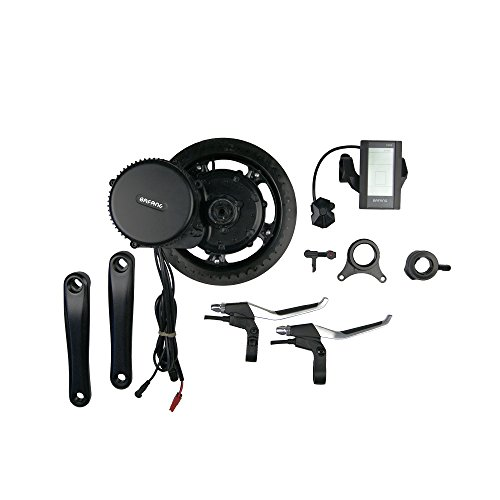 Bafang Electric Bike Mid Motor Conversion Kit 36V 250W by Cnebikes