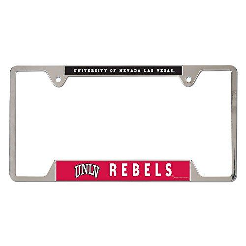 evada- Las Vegas Metal License Plate Frame (Unlv Runnin Rebels Car)