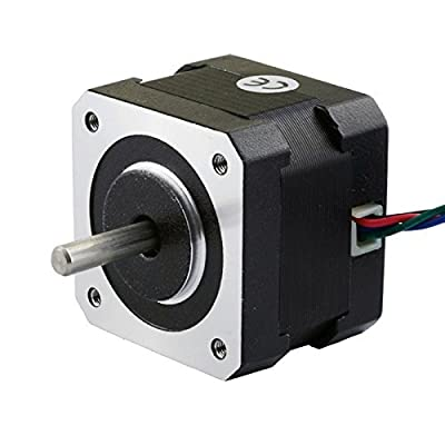 Stepping Motor Nema 17 Stepping Motor 26Ncm(36.8oz.in) 12V 0.4A 3D Printer CNC