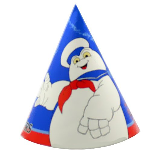Ghostbusters Cone Hats (6ct) (Ghostbusters Party Supplies)