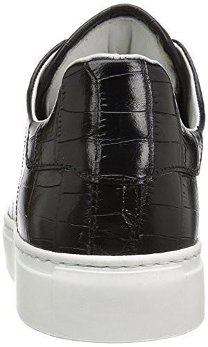 Bugatchi Mens Alexandria Sneaker Nero l0xoeQ9vd