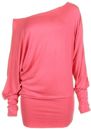 Funky Boutique - Camisas - para mujer Coral