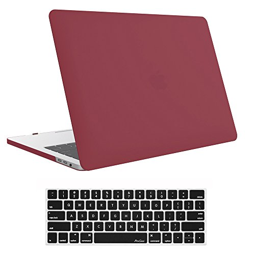 ProCase MacBook Release Keyboard Burgundy product image