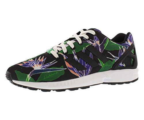 Adidas Zx Flux Weave Men's Running Shoes (11, Black/White/Green/Purple) USSH16030614259