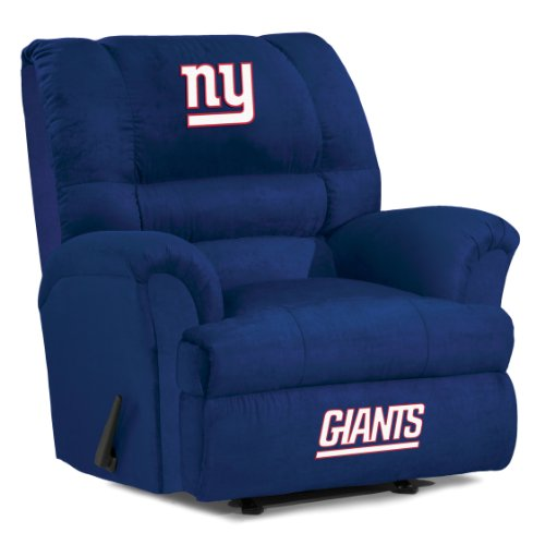 UPC 720801401133, Imperial Officially Licensed NFL Furniture: Big Daddy Microfiber Rocker Recliner, New York Giants