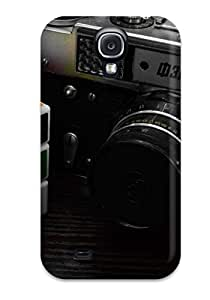 Brand New S4 Defender Case For Galaxy (camera And A Cube)