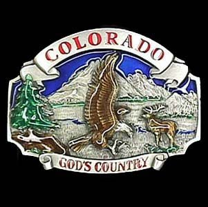 Belt Buckle - Colorado God's Country