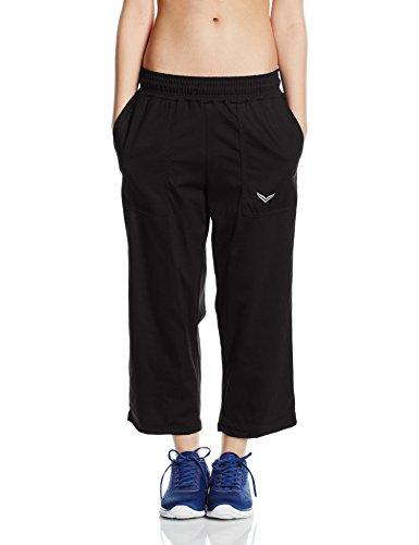 Trigema, Pantalones de Deporte para Mujer Negro (Schwarz 008)
