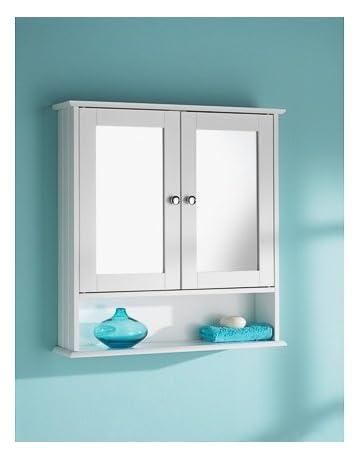 Amazon Co Uk Mirror Cabinets Home Kitchen