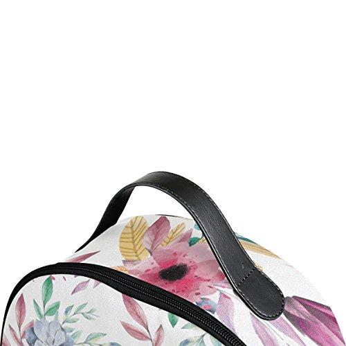 dos à femme main porté unique PINLLG Sac multicolore au pour Taille qPSwn1X