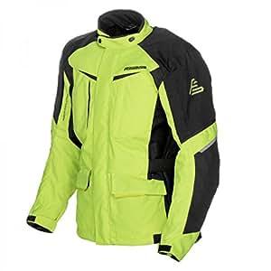 Amazon.com: Fieldsheer Hi-Pro Textile Jacket Hi-Viz/Black ...