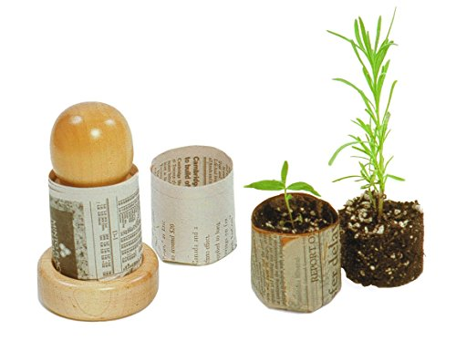DIY Plant PotMaker from Newspaper