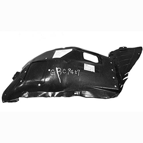 Crash Parts Plus BM1251114 Right Fender Splash Shield for BMW 3 Series (Shield 328i Bmw Splash)
