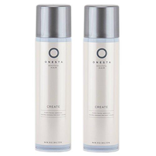 Onesta Create Finish Firm Hold Hair Spray 10 Fluid Ounce, 2 Count