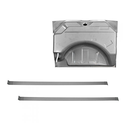 19 Gallon Fuel Gas Tank with Strap Set for 66-67 Dodge ()