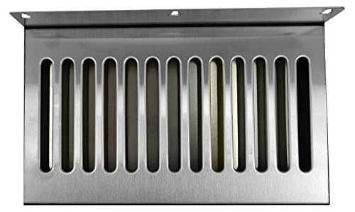 Bev Rite Wall Mount Beer Drip Tray, Stainless Steel, 12 x 6