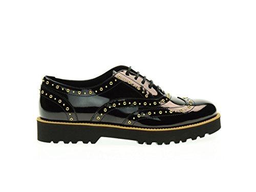 Hogan Derby Shoe Black, Ladies.
