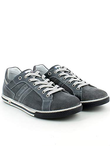 Nerogiardini Jeans In Forata Blu Camoscio sneaker wUSxqUaR