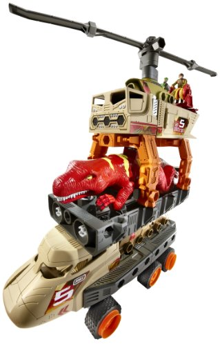 Matchbox Mega Rig Jurassic Copter Building System - coolthings.us