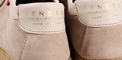 DJINNS - Genesis Low Scarpa da Uomo Beige
