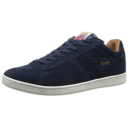 Gola Mens Equipe Suede Fashion Sneaker       Navy       10 UK 10 M US
