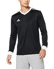 adidas Australia Men's Tabela 18 Jersey (Long Sleeve), Black/White, XL