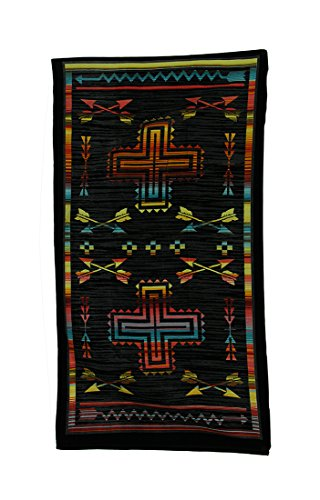 Straight Shooter Crossed Arrows Oversize Southwest Beach Towel 34 X 64 Inch