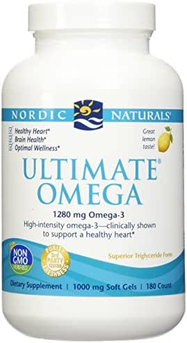 Nordic Natural Ultimate Omega 360 count - (2 pack of 180 per bottle)