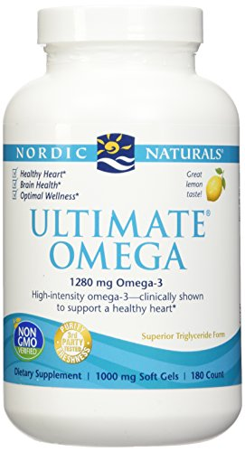 - Nordic Natural Ultimate Omega 360 count - (2 pack of 180 per bottle)