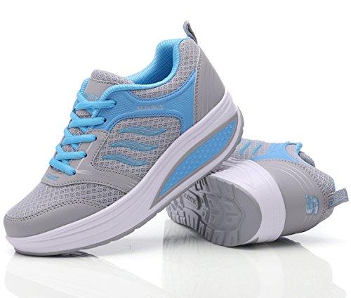Blau1 Compensées Solshine Chaussures Femme Compensées Chaussures Solshine Blau1 Femme 65rq5TwpFH