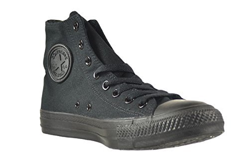 Converse Unisex Chuck Taylor All Star Hi Basketball Shoe Black Monochrome 13 D(M) US
