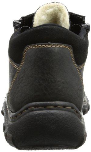 Rieker 07331 - Botas de material sintético hombre negro - Schwarz (schwarz/schwarz 00)