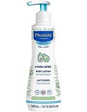 Mustela Hydra Bebe Body Lotion - Daily Moisturizing Baby Lotion with Natural Avocado, Jojoba & Sunflower Oil – 10.14 fl. oz.