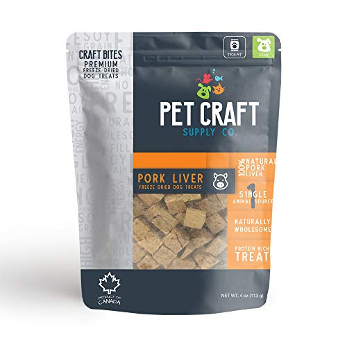 Pet Craft Supply Naturally Wholesome Single Animal Source Protein Rich Treats - Pork from Pet Craft Supply