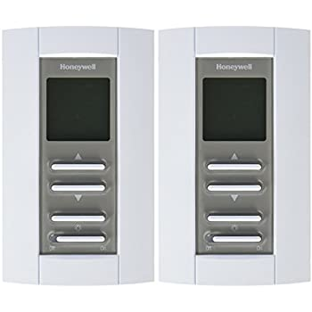 honeywell tl7235a1003 line volt pro non programmable digital