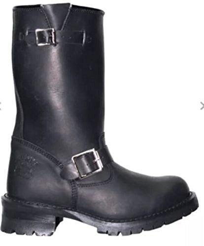 Grinders Engineer Biker Boot Turbo Mens Western Combat Leather Boots UK All Sizes NTwK9Gw81r
