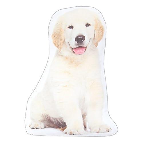 "Hot K&K 14"" x 8"" Dog Breed Accent Pillow (Golden Retriever Puppy) free shipping"