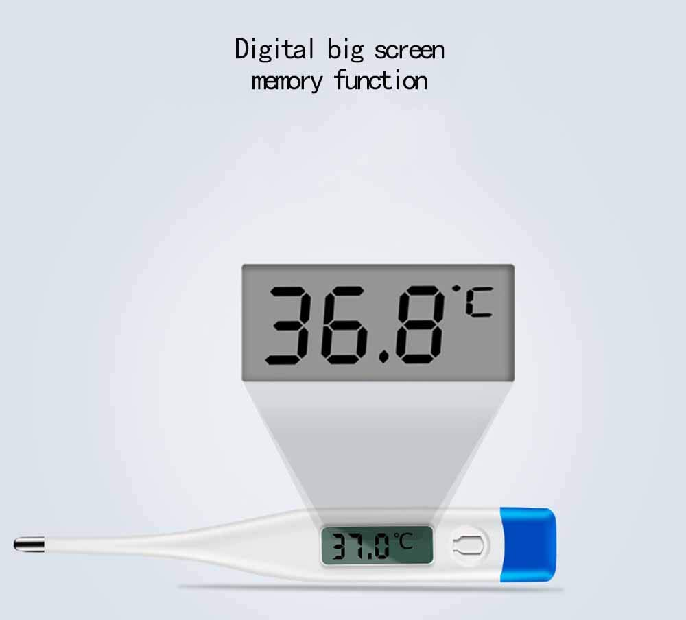 Thermometer Accurate and Fast Readings with Fever Indicator for Adults Kids and Babies Digital Medical Rectal and Oral Thermometers,Thermometer for Fever