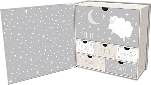Lady Jayne Babys First Memory Keepsake Box (Star Sheep)