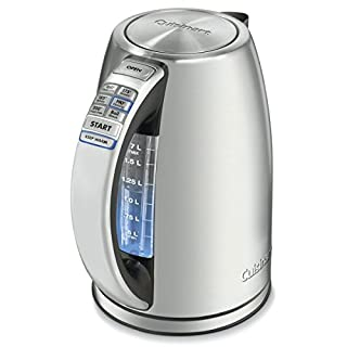Cuisinart CPK-17 PerfecTemp 1.7-Liter Stainless Steel Cordless Electric Kettle - Silver (B003KYSLNQ) | Amazon price tracker / tracking, Amazon price history charts, Amazon price watches, Amazon price drop alerts