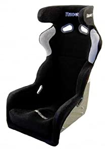 Racetech RT9009HR Carbon/Kevlar Fixed Back Side Mount FIA Racing Bucket Seat with Head Restraint