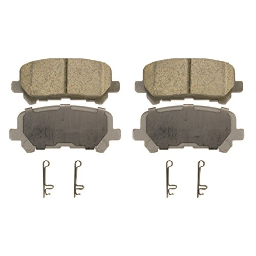 Wagner ThermoQuiet QC1281 Ceramic Disc Pad Set, Rear -
